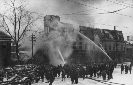 1926 Fire at the Tondreau Block