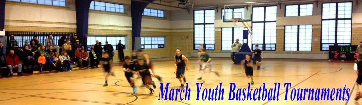 March Youth Basketball Tournaments