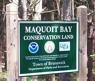 Maquoit Bay Conservation Land