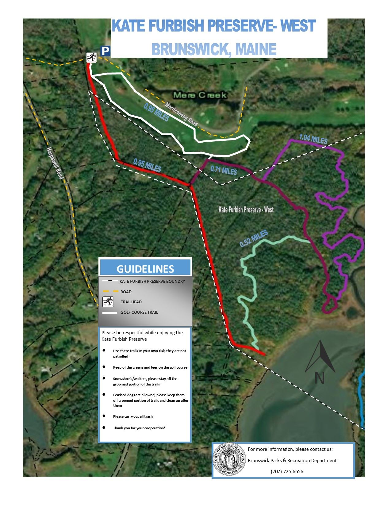 KFW- Winter Trail Map WEST