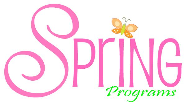 Spring Programs Opens in new window